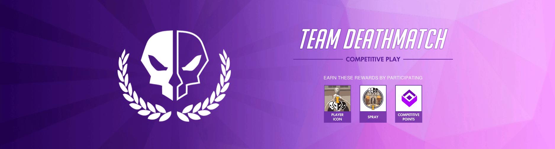 overwatch team deathmatch rewards