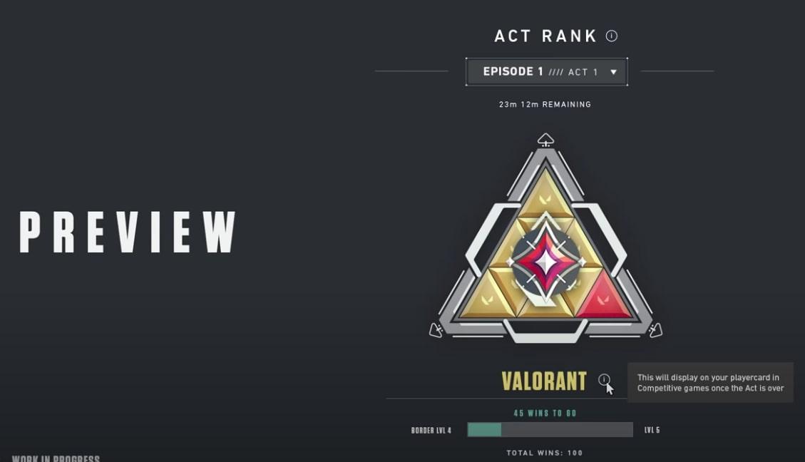 Valorant act 2 immortal badge