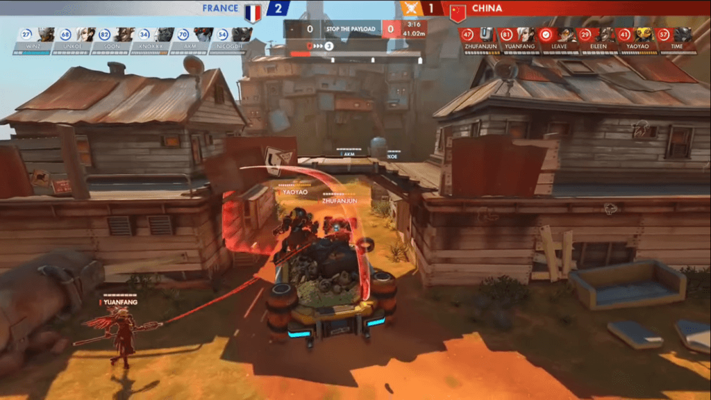 Overwatch Bunker Comp France VS China