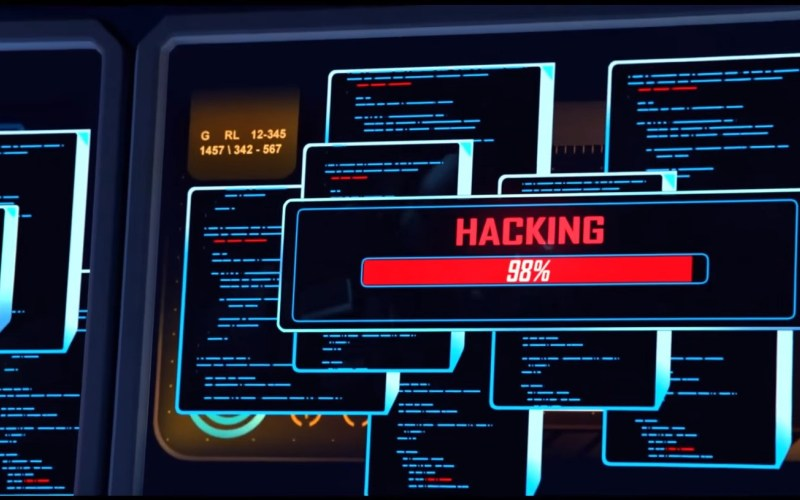 Overwatch hacking trailer
