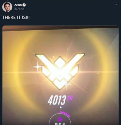 zedd overwatch tweet