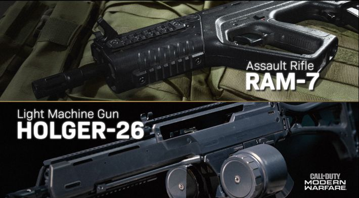 New cod modern warfare weapons