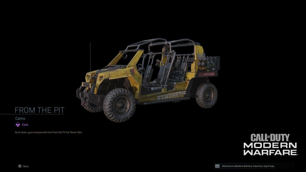 modern warfare vehicle skin
