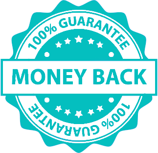 100% money back guarantee certificate